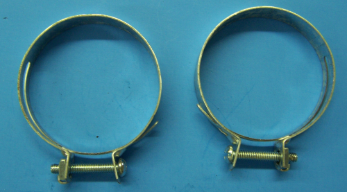 1957 Gas Tank Filler Pipe Hose Clamps