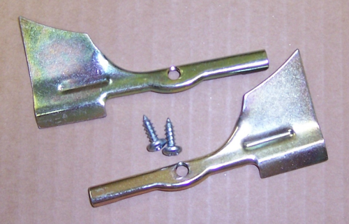 1955-57 Windshield Corner Moulding Clips w/ Screws
