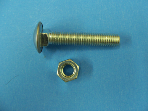 1955 Bumper Bolt (Stainless/Capped)
