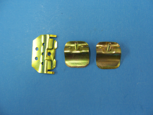 1955-57 Lower Front Windshield Moulding Clip Set
