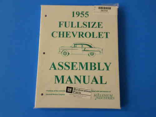 1955 Chevrolet Full Size Assembly Manual