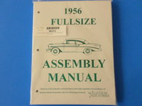 1956 Full Size Chevrolet Assembly Manual