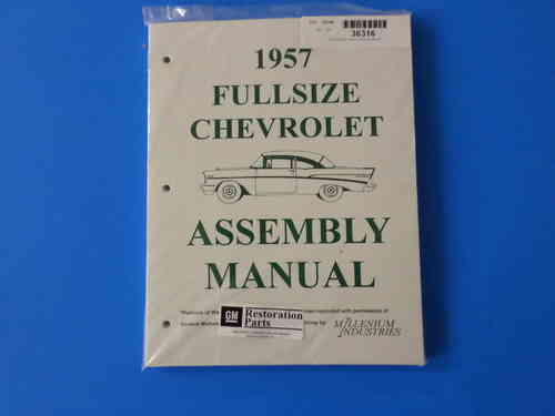 1957 Full Size Chevrolet Assembly Manual